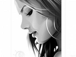 مرارة الحياه fille-noir-et-blanc-vector-1152x864-300x225